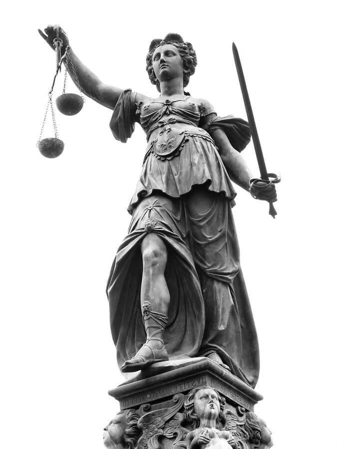 lady justice statue drawing - photo #32